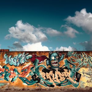 Graffiti Wallpaper 022 300x300