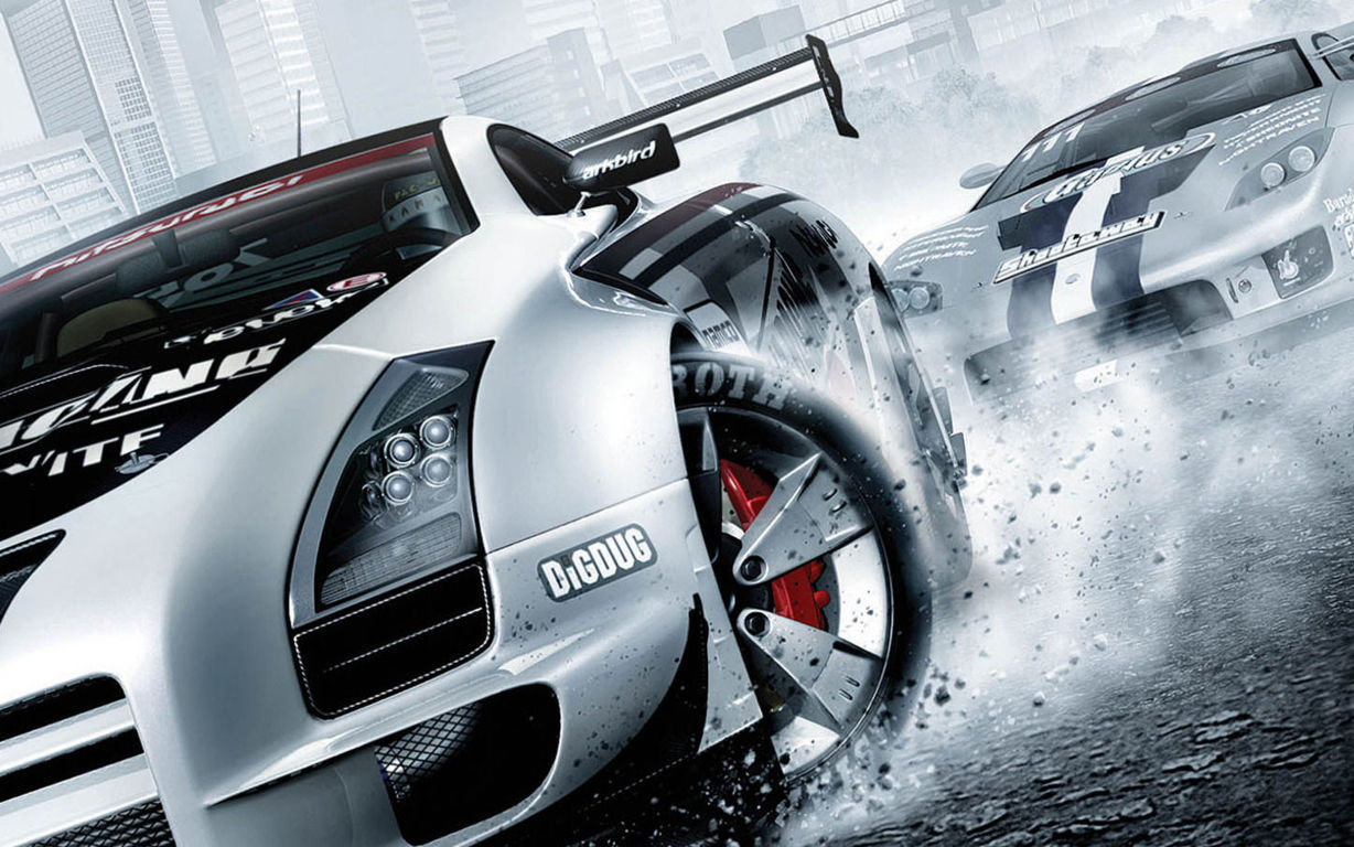 Racing Cars Wallpaper 004