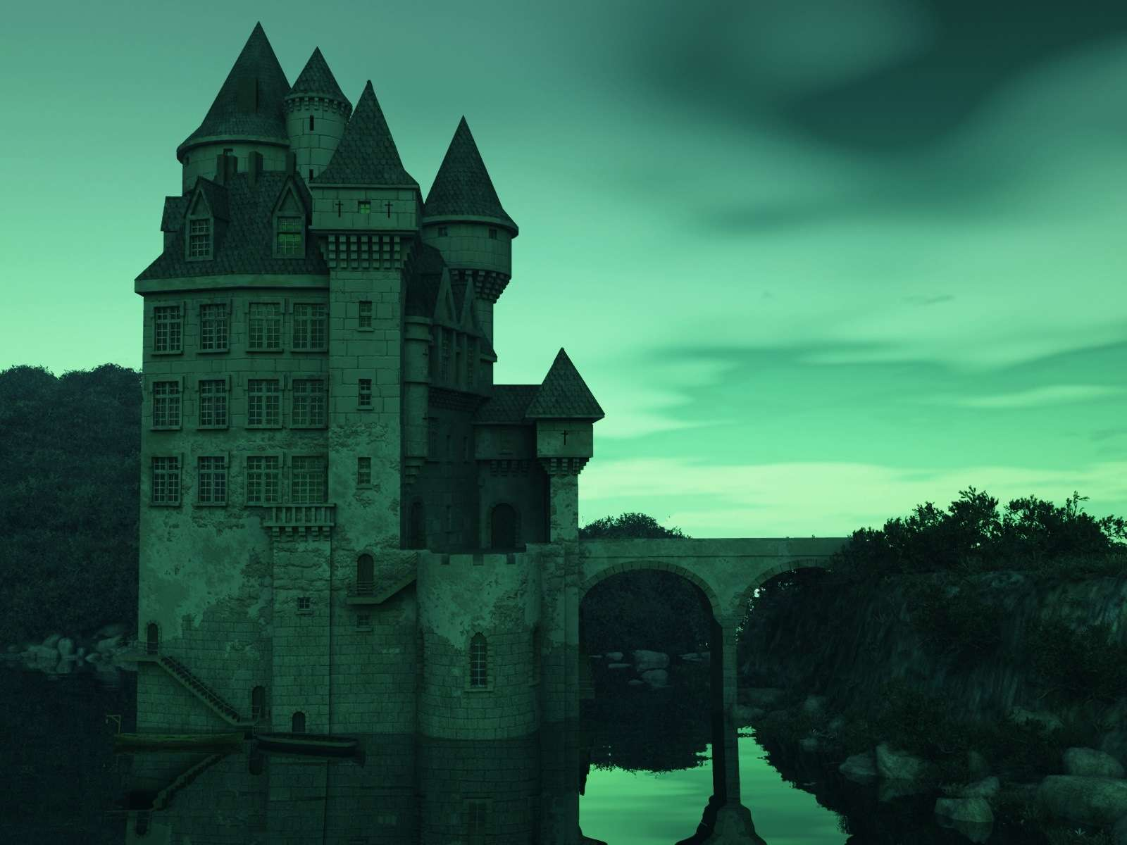 Castle Wallpaper 026