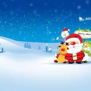 Christmas Winter Wallpaper 030 300x300
