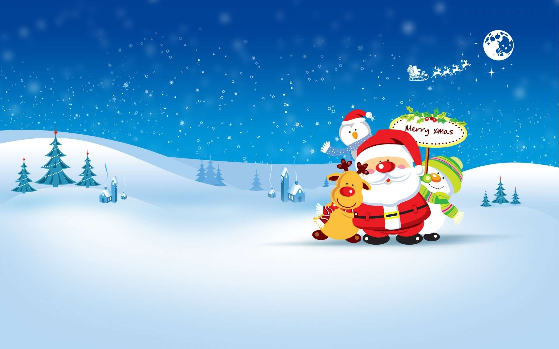 Christmas Winter Wallpaper 030