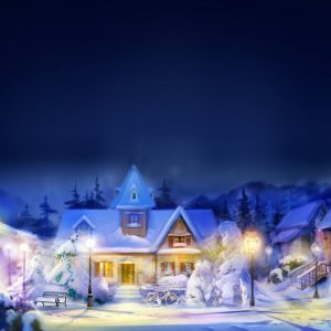 Christmas Winter Wallpaper 059 300x300
