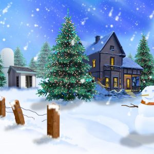 Christmas Winter Wallpaper 074