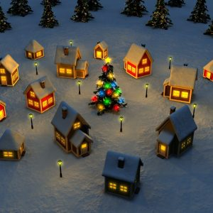 Christmas Winter Wallpaper 076 300x300