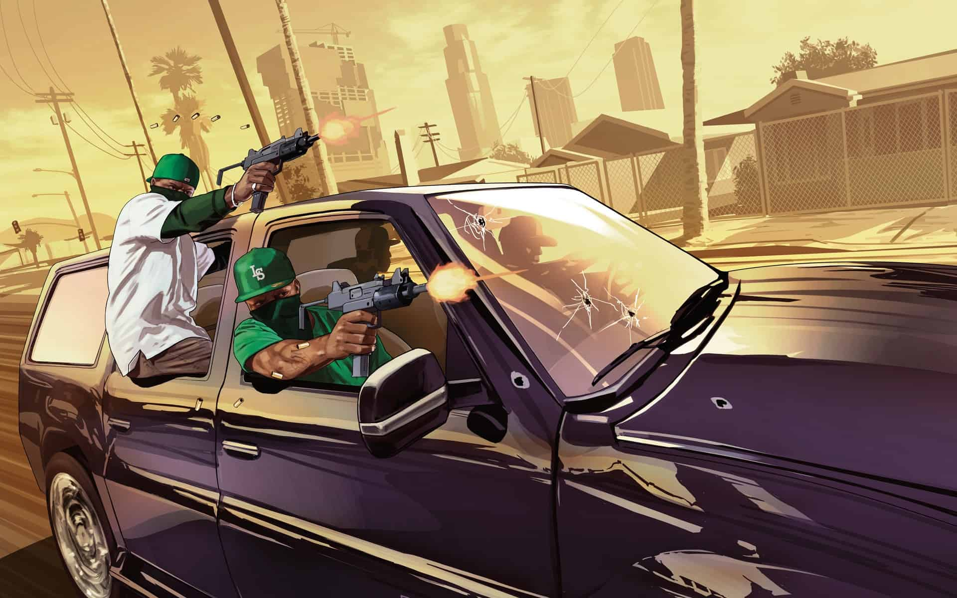 Game Grand Theft Auto V Wallpaper 013