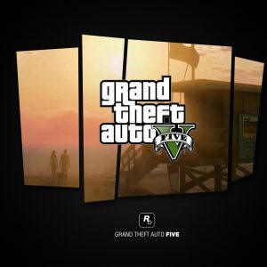 Game Grand Theft Auto V Wallpaper 015 300x300