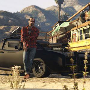 Game Grand Theft Auto V Wallpaper 044 300x300