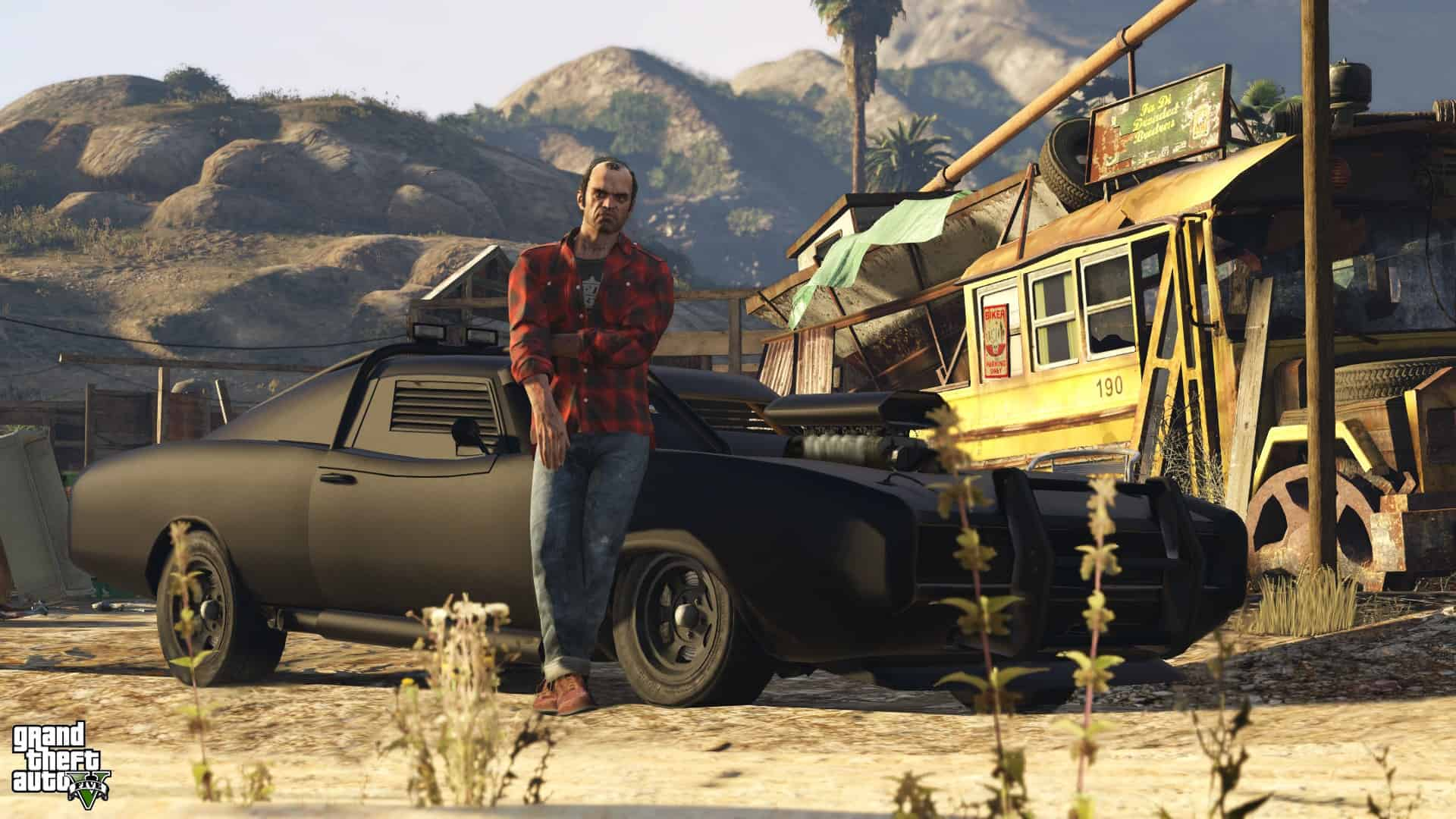 Game Grand Theft Auto V Wallpaper 044