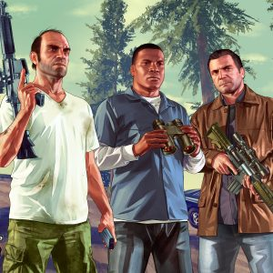 Game Grand Theft Auto V Wallpaper 061 300x300