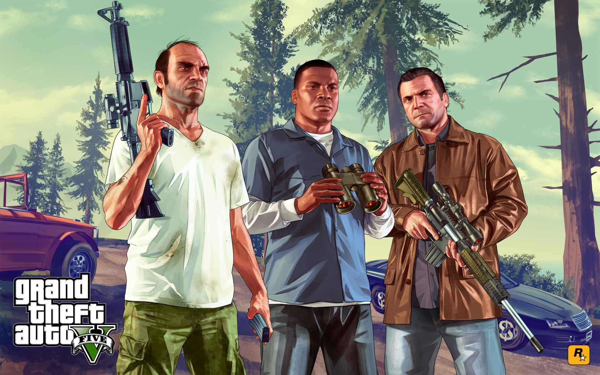 Game Grand Theft Auto V Wallpaper 061