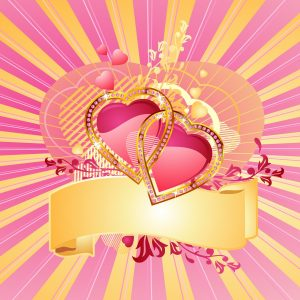 Hearth Love Vector Wallpaper 002 300x300