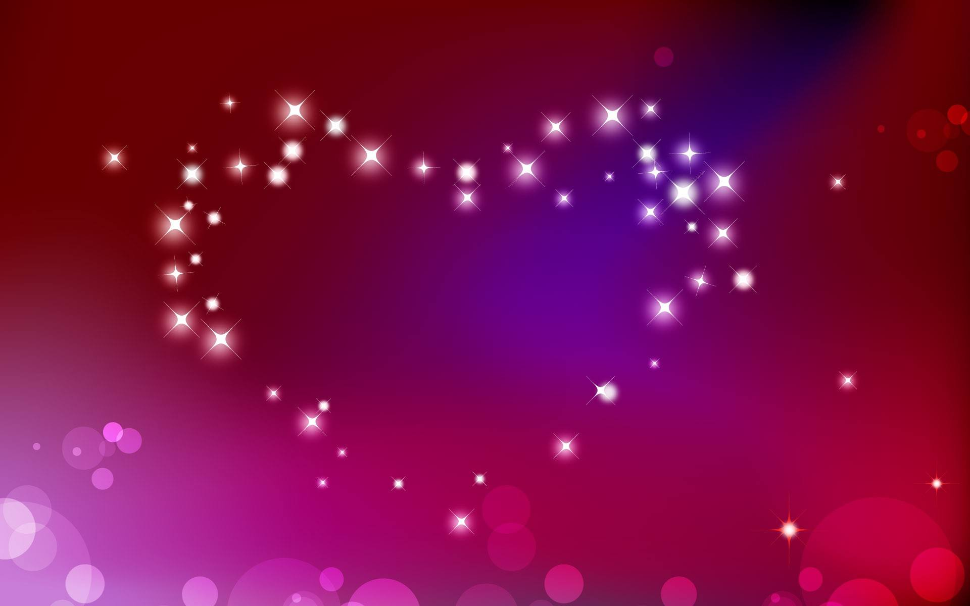 Hearth Love Vector Wallpaper 012