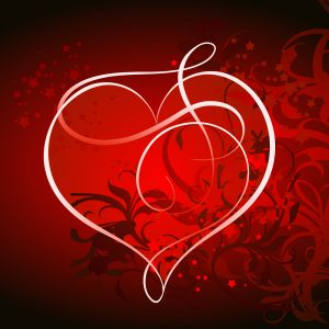 Hearth Love Vector Wallpaper 027 300x300