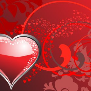 Hearth Love Vector Wallpaper 028 300x300