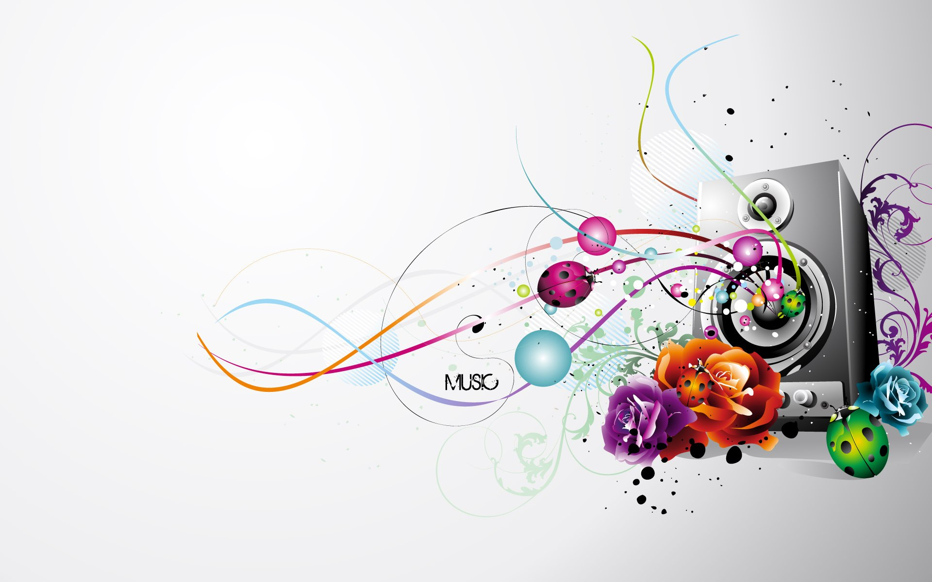 Music Background Wallpaper 011