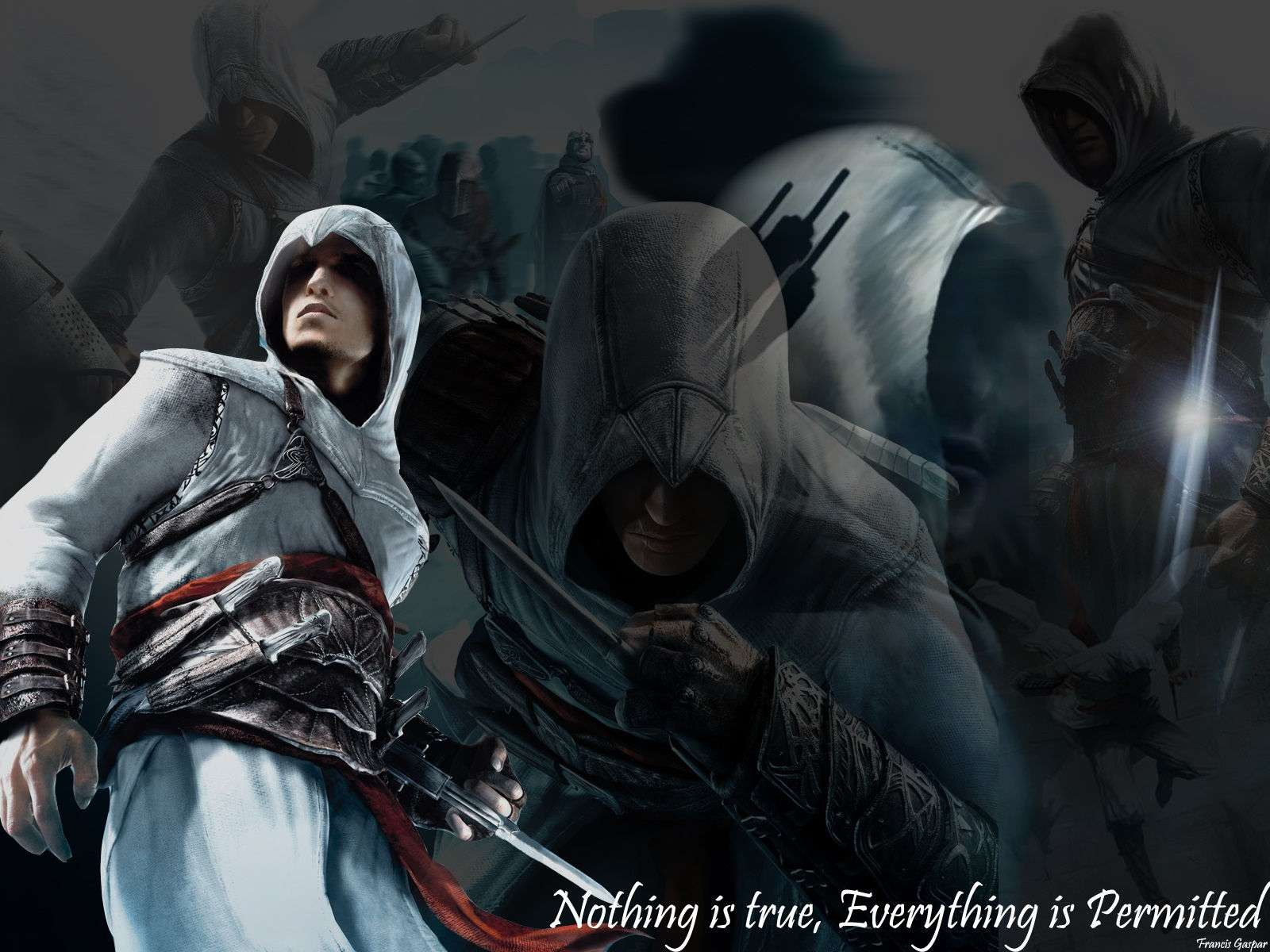 Assain Creed Video Game Wallpaper 025