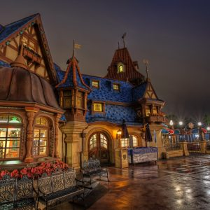 Disneyland Wallpaper 053 300x300