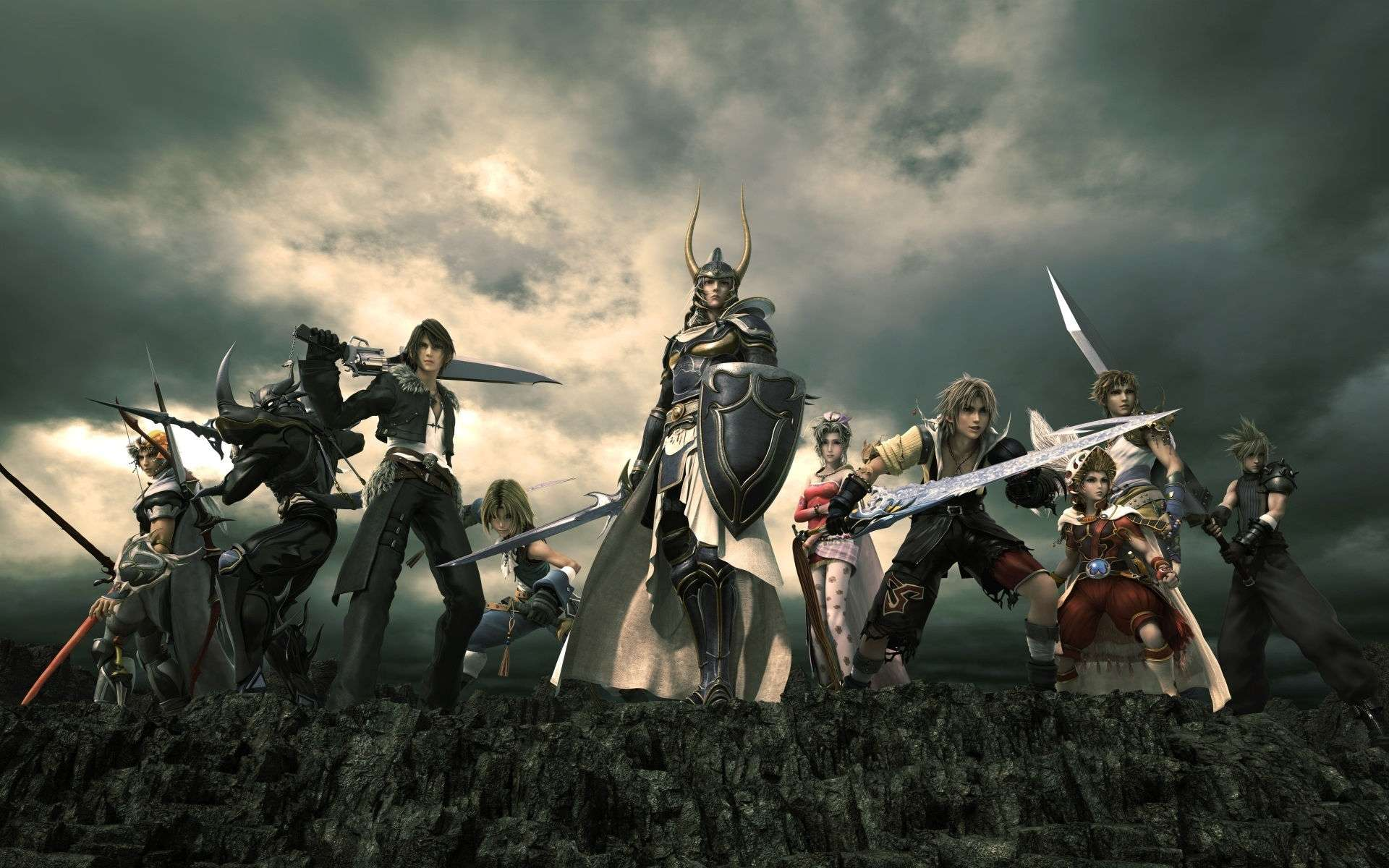 Final Fantasy Video Game Wallpaper 011