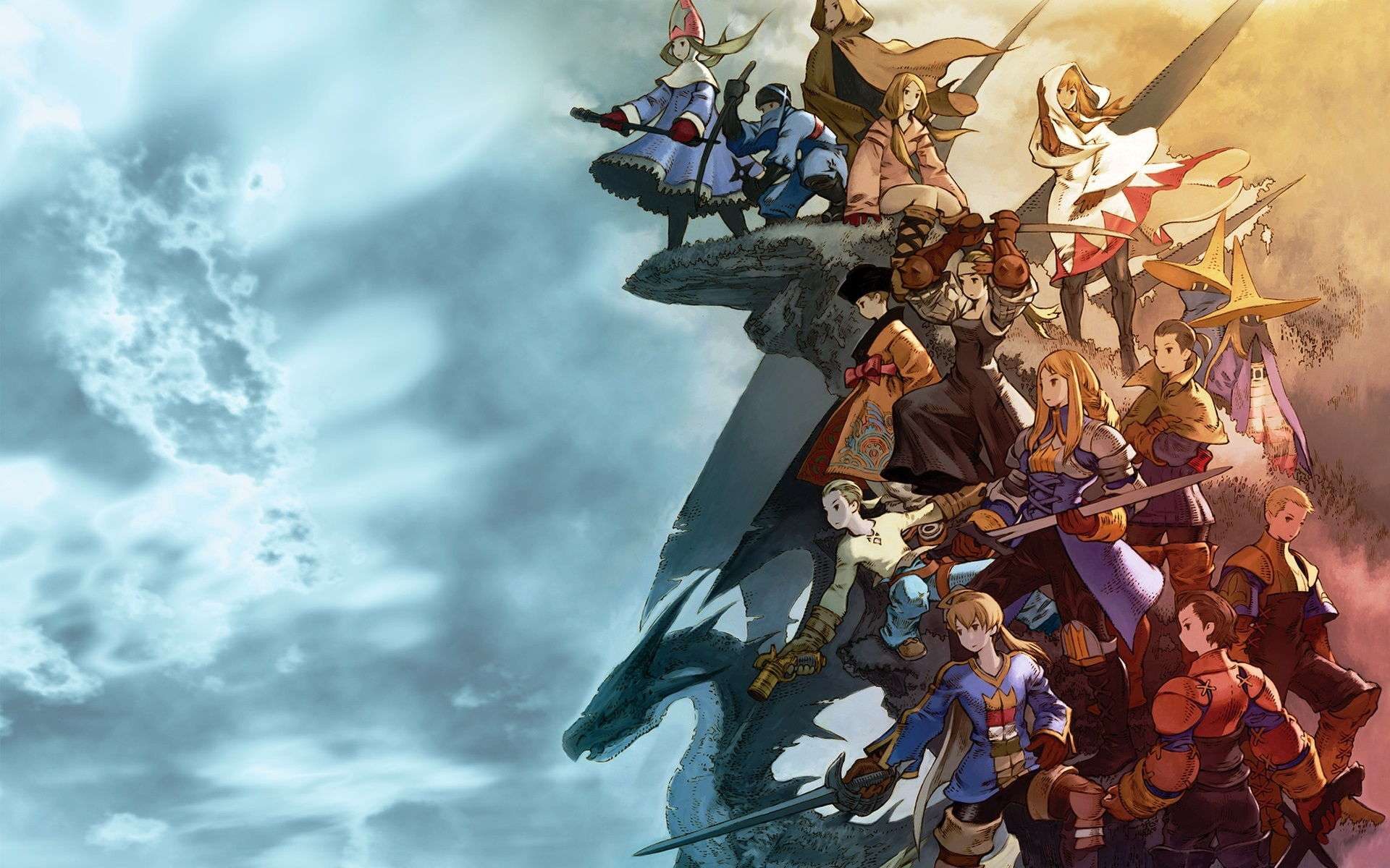 Final Fantasy Video Game Wallpaper 025