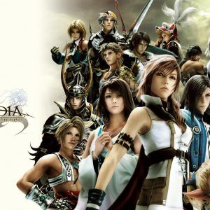 Final Fantasy Video Game Wallpaper 030