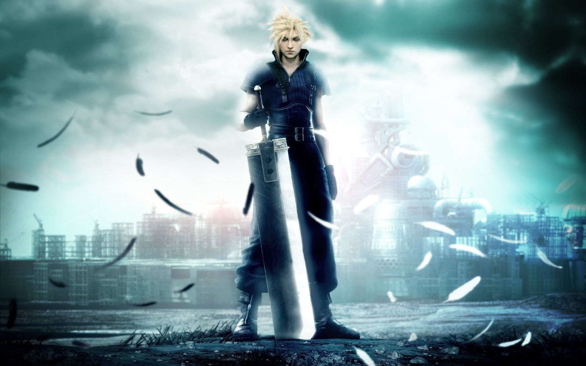 Final Fantasy Video Game Wallpaper 036