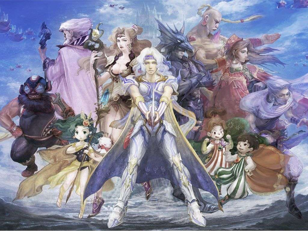 Final Fantasy Video Game Wallpaper 039