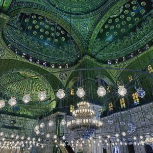 Ceiling of the Mosque of Muhammad