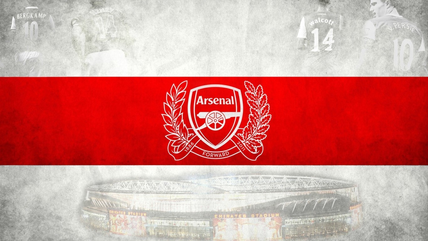 Arsenal Logo Wallpaper 1