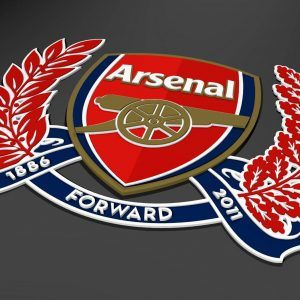 Arsenal Logo Wallpaper 11 300x300