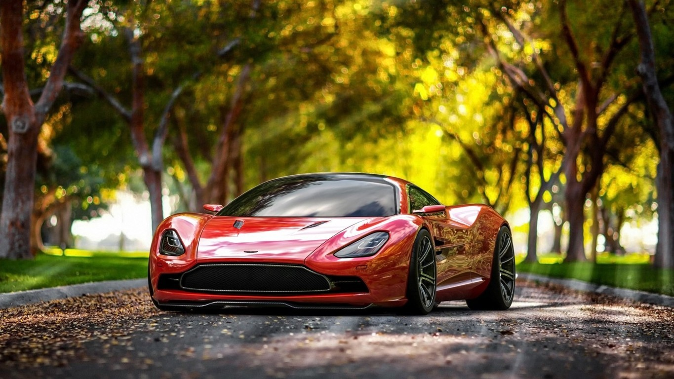 Aston Martin DBC Wallpaper 4