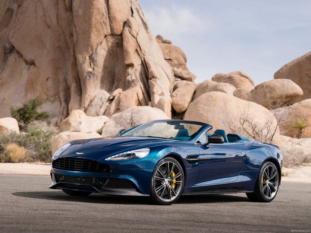 Aston Martin Volante Wallpaper 1