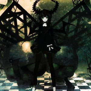 Black Rock Shooter Anime Wallpaper 3 300x300