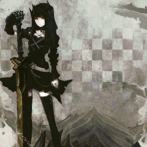 Black Rock Shooter Anime Wallpaper 4 300x300
