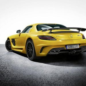 Mercedes-Benz SLS AMG Wallpaper 2