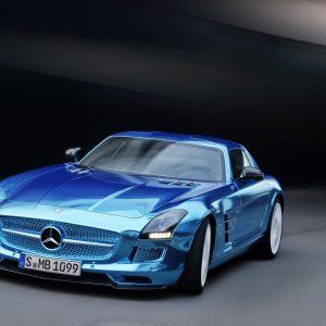 Mercedes-Benz SLS AMG Wallpaper 3