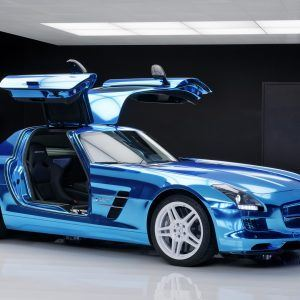 Mercedes-Benz SLS AMG Wallpaper 4