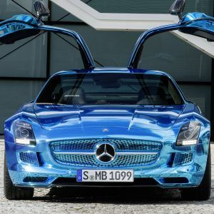 Mercedes-Benz SLS AMG Wallpaper 6