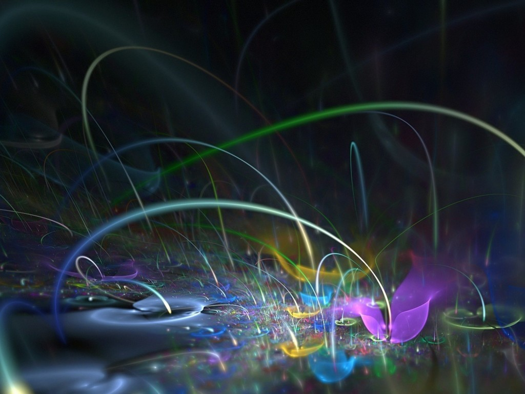 Abstract Colours Wallpaper 14