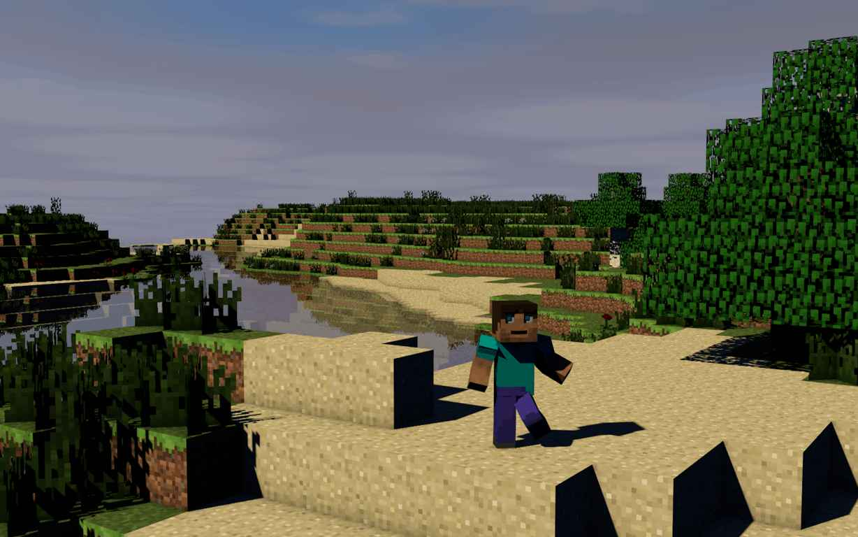 MineCraft Video Game Wallpaper 13