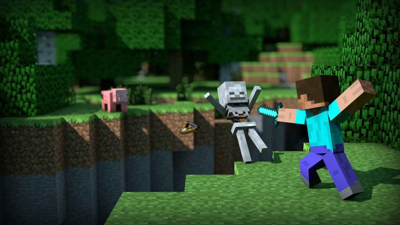 MineCraft Video Game Wallpaper 36
