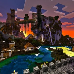 MineCraft Video Game Wallpaper 45