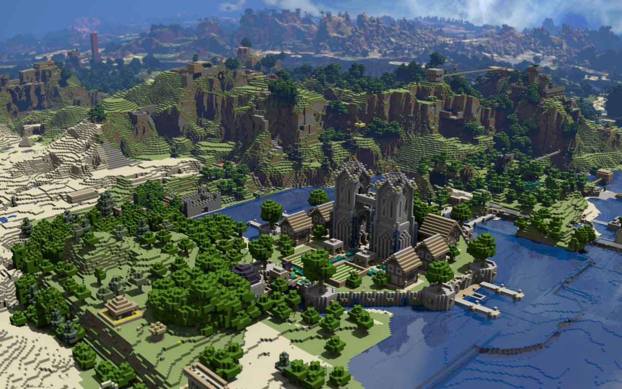 MineCraft Video Game Wallpaper 47
