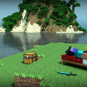 MineCraft Video Game Wallpaper 49