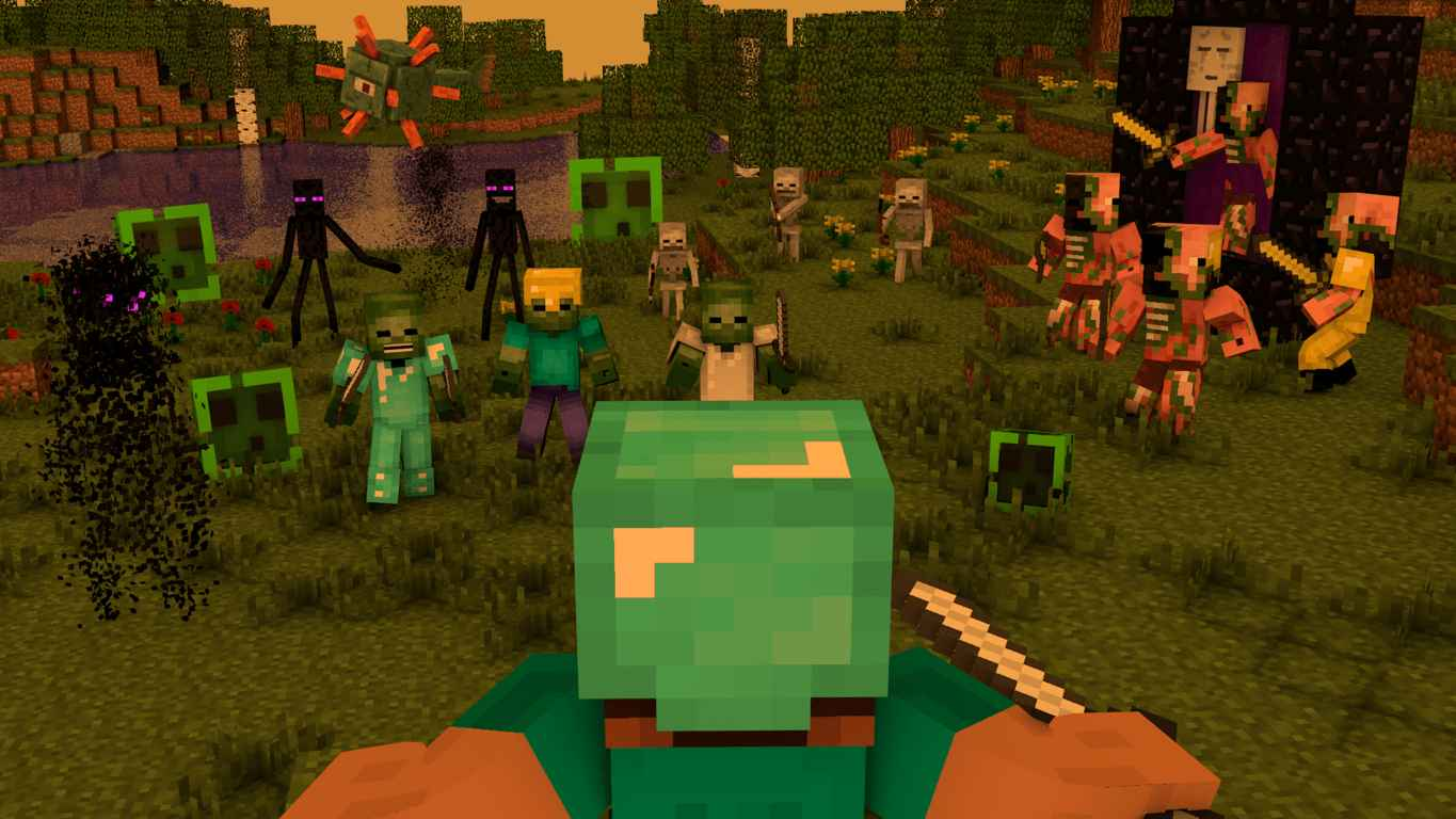 MineCraft Video Game Wallpaper 9