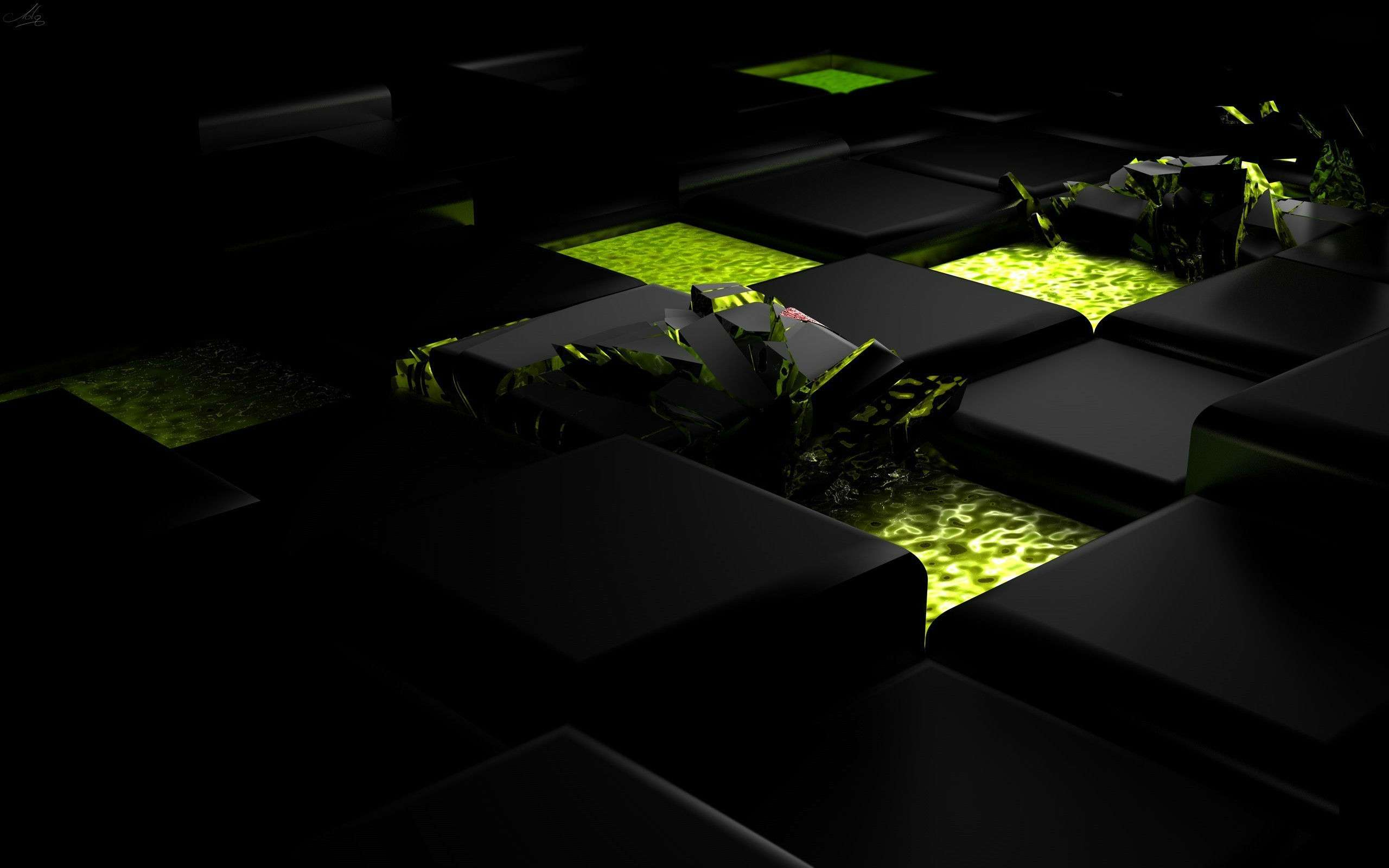 3D Abstract CGI Wallpaper 011