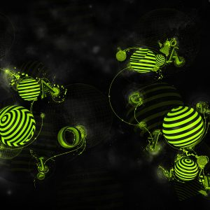 3D Abstract CGI Wallpaper 054