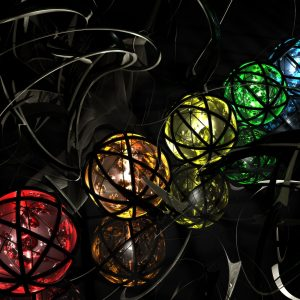 3D Abstract CGI Wallpaper 096 300x300