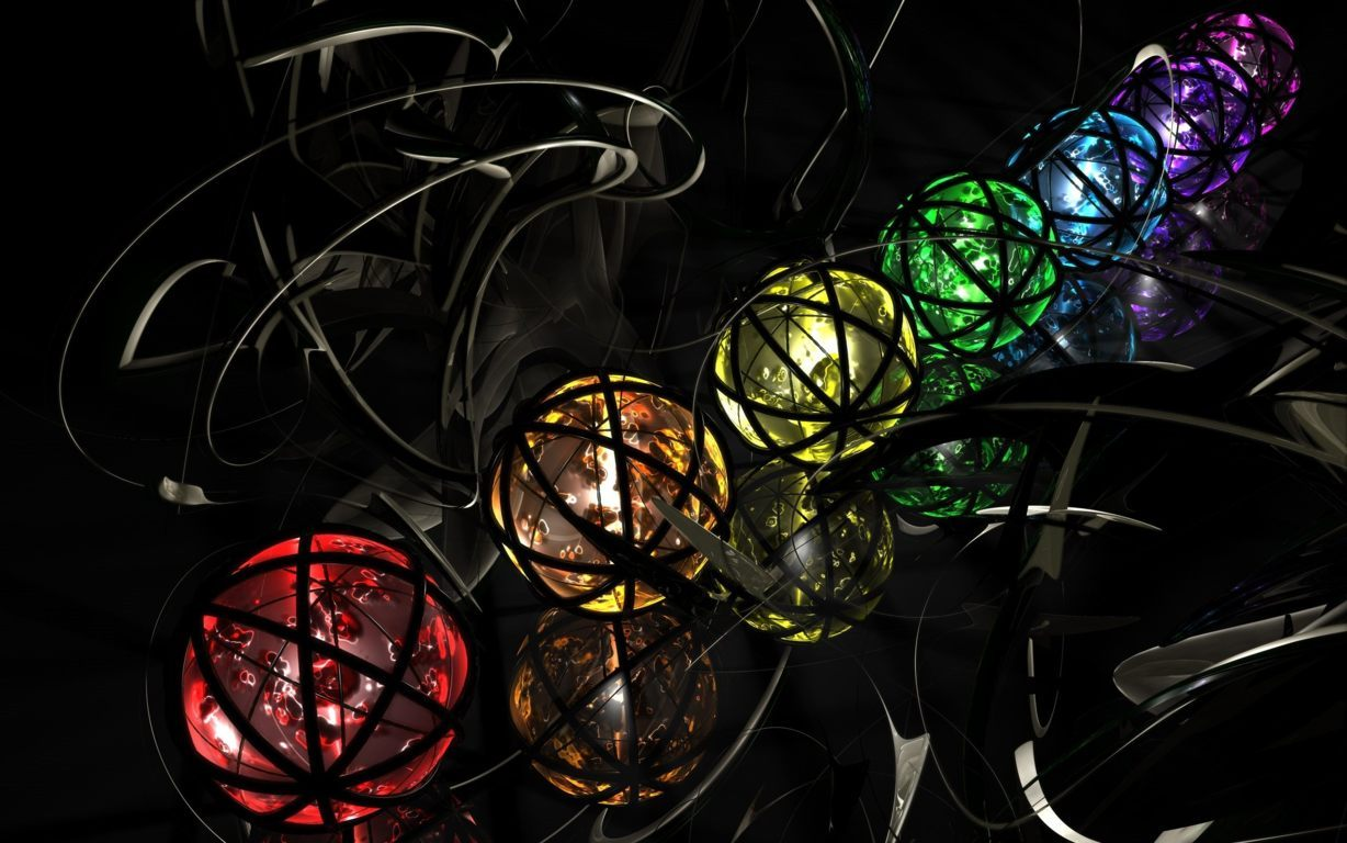 3D Abstract CGI Wallpaper 096