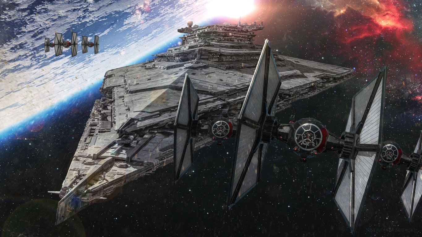 Star Wars Episode VII The Force Awakens Wallpaper 015