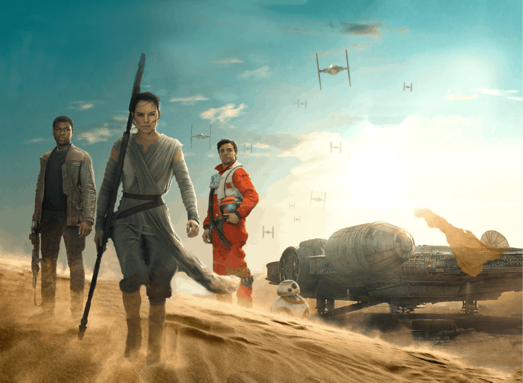 Star Wars Episode VII The Force Awakens Wallpaper 036